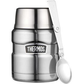 Thermos King Food Container 450ml Titanium, srebrny